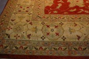 12x18 WOOL AREA RUG PERSIAN CHOBI VEGETABLE DYE LARGE