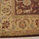 12x18 WOOL RUG PERSIAN VEGETABLE DYE CHOBI BROWN BEIGE