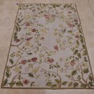 NEW 4x6 FRENCH AUBUSSON HANDMADE WOOL AREA RUG FLORAL