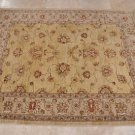 RARE 5x6 HAND KNOTTED WOOL AREA RUG VEGETABLE DYE CHOBI