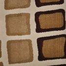 8x11 Machine Made Rug Ivory Brown Print