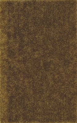 SHAG 4x6 AREA RUG SOLID GOLD HANDMADE TUFTED SOFT NEW