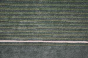 NEW MODERN 5x8 INDO NEPAL BLUE GREEN WOOL AREA RUG