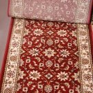 "25.25"" WIDE UNBOUND RUNNER RED IVORY BUY BY LINEAR FT"