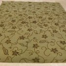8x10 WOOL RUG HANDMADE MODERN GOLD GREEN SILK VINES PERSIAN