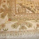 12x15 WOOL RUG PERSIAN CHOBI VEGETABLE DYE LARGE IVORY
