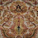 8x10 WOOL HAND KNOTTED AREA RUG BEIGE RED MASTERPIECE