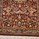 2.5x10 WOOL RUNNER HAND KNOTTED RED BLUE PERSIAN FINE