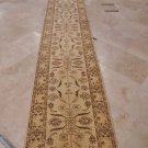 "32"" WIDE 21 FOOT RUNNER HANDMADE GOLD CHOBI OVERSIZED"