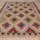 9x12 TURKISH KILIM HANDMADE KNOTTED AREA RUG ANTIQUE