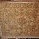 8x10 AREA RUG HANDMADE JAIPUR WORSTED WOOL PATCHWORK