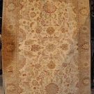 6x8 AREA RUG WOOL HAND KNOTTED VEGETABLE DYE CHOBI GOLD