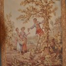 5x7 FRENCH AUBUSSON SAVONERRIE AREA RUG TAPESTRY RARE