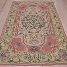 NEW 6x9 CHAIN STITCH AUBUSSON NEEDLE POINT AREA RUG