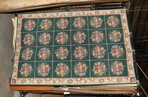 NEW 6x9 HANDMADE NEEDLE POINT FRENCH AUBUSSON AREA RUG