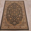3x5 AREA RUG PERSIAN GREEN IVORY DENSE PILE FLORAL ISPAHAN/ISFAHAN STYLE OLEFIN