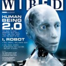 Wired Magazine July 2004 - Back Issue - Rise of the Machines - Linux Killer - NEW sealed