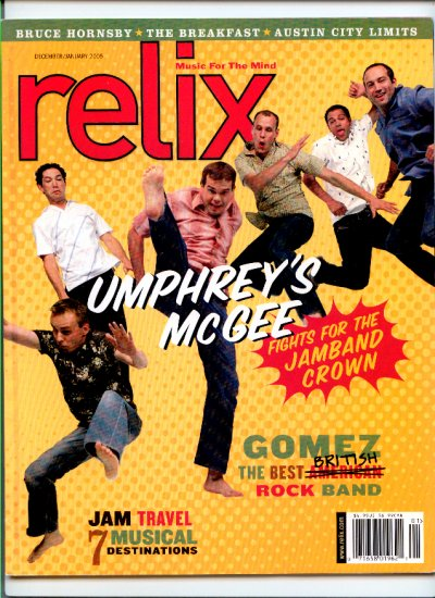 Relix Magazine December/January 2005 - Back Issue -  Austin City Limits