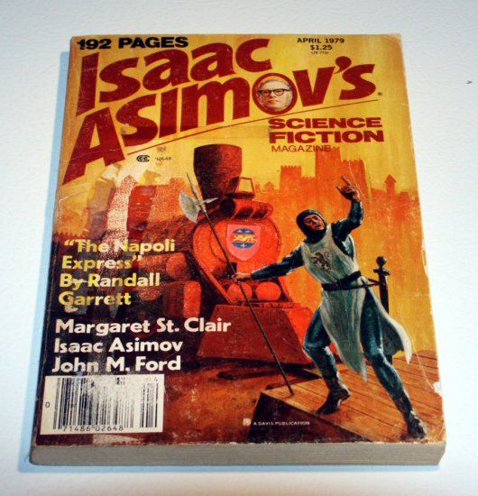 ISAAC ASIMOV'S Science Fiction Magazine April (1979)