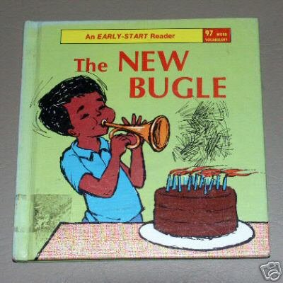 The New Bugle story by Annie DeCaprio - Madeleine Leston - Early-Start Reader 1966