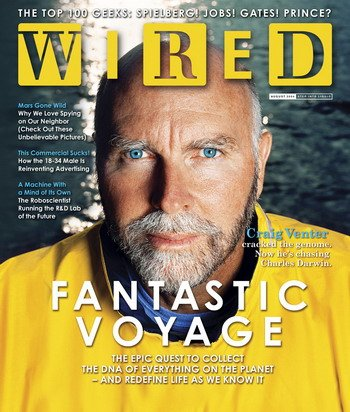 Wired Magazine August 2004 - Back Issue - Fantastic Voyage