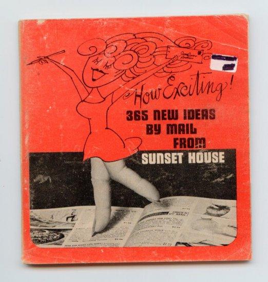 Sunset House Mail-Order Magazine Catalog (1964) 365 New Ideas