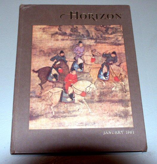 American Heritage HORIZON Magazine January, 1961 - Volume III, Number 3