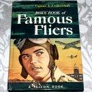 Boys' Book of Famous Fliers by Captain J.J. Grayson (1951) A Falcon