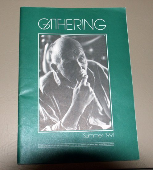 Gathering A Magazine of Literature and the Arts of the University of Maryland - Summer 1991