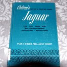 Chilton's Repair and Tune-Up Guide for the Jaguar - Illustrated - Customized 1969 - Manual