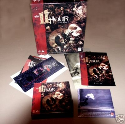 The 11th Hour (Sequel 7th Guest) - PC CD DOS Video Game by Virgin Interactive