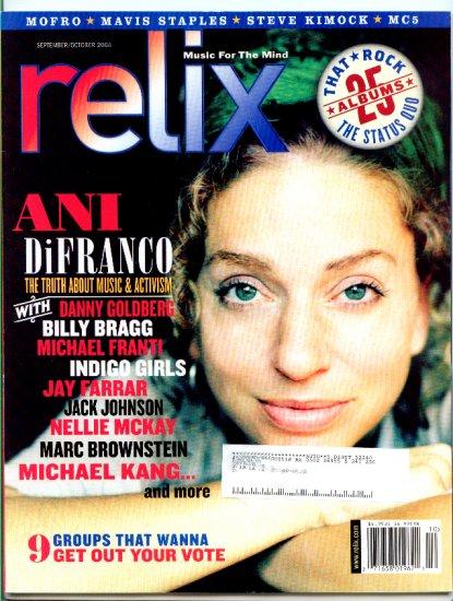 Relix Magazine Back Issue September/October 2004 - Mofro - Mavis Staples -MC5 - Ani DiFranco