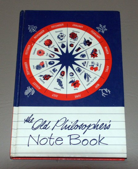 The Old Philosopher's NOTE BOOK - American Technical Society - 1965