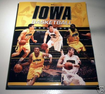 University of Iowa Hawkeyes 2002-2003 Basketball Season Program Guide