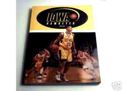 University of Iowa Basketball 200-2001 Men's Basketball Program Guide