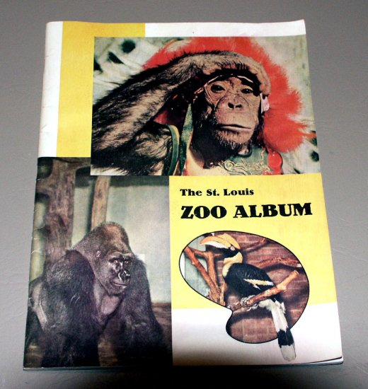 The St. Louis Zoo Album an illustrated guide to the... Zoological Garden (1953)