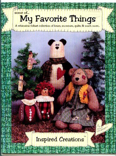 Some of... My Favorite Things by Dawn Heidegger - Folk art Bears, Quilts, Patterns