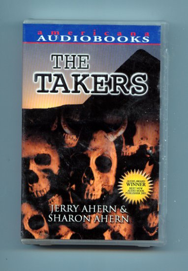 The Takers (Audio book on tape) by Jerry Ahern, Sharon Ahern, David Griffin