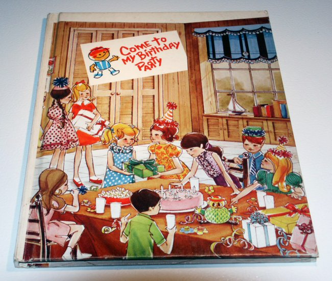 Come to My Birthday Party (Hardcover 1969) by Western Staff