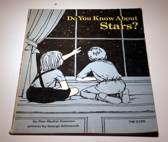 Do You Know About Stars? (PB 1970) by Mae Blacker Freeman
