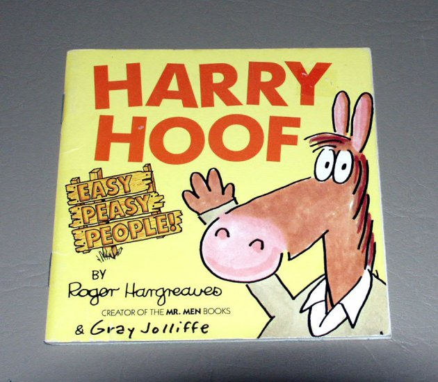 HARRY HOOF (Easy Peasy People) by Roger Hargreaves