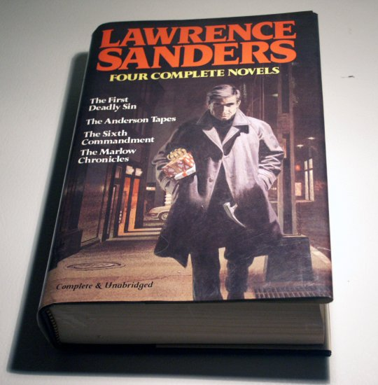 Lawrence Sanders: 4 Complete Novels (Hardcover) by Rh Value Publishing