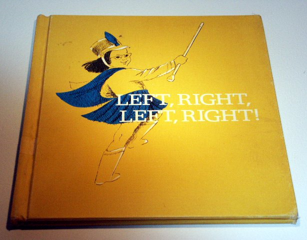 Left, Right, Left, Right (Hardcover 1969) by Muriel Stanek, Lucy Hawkinson