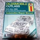 Oldsmobile Cutlass, 1974-1988 (Haynes Manuals) Service Repair Guide