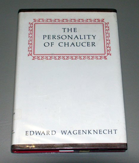 Personality of Chaucer (Hardcover) by Edward Wagenknecht
