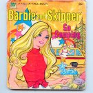 Barbie and Skipper go Camping (A Tell-a-Tale Book 1977) by Eileen Daly