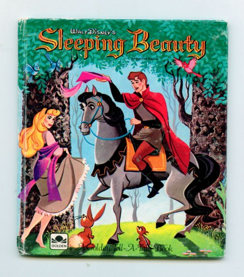 Walt Disney's Sleeping Beauty (Golden Tell-a-Tale 1959) by Norm McGary