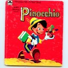 Pinocchio by Dorothy Haas (Golden Tell-a-Tale 1961) McSavage Fisher