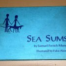 Sea sums (Hardcover 1970) by Samuel French Morse