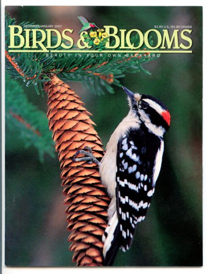 Birds & Blooms Magazine - December/January 2007 (Back Issue)